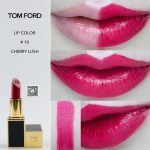 review son tom ford cherry lush swatch